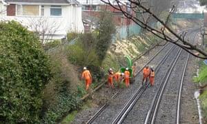 Tree felling by Network Rail