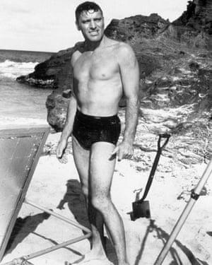 Burt Lancaster in Fred Zinnemann's 1953 drama From Here To Eternity.