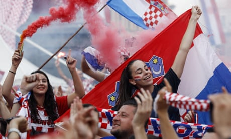 Philosophical fans celebrate Croatia's historic World Cup, despite final defeat