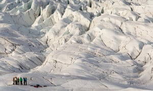 Glacier hiking tour, Iceland