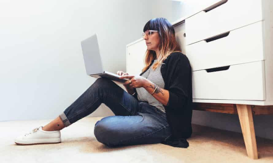 Flickering wifi: the joys of working from home. If you have a job, that is