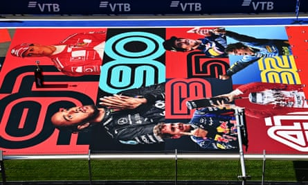 A grid sticker at Sochi last month shows the number of race wins for Michael Schumacher, Lewis Hamilton, Sebastian Vettel , Alain Prost, Ayrton Senna and Fernando Alonso.