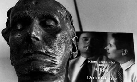 klaus mann death mask