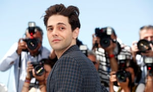 Xavier Dolan in Cannes this year for It's Only the End of the World.