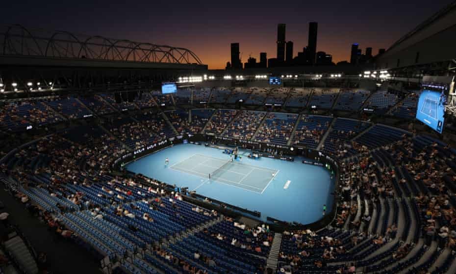 Melbourne did host its annual grand slam, and the world did not believe it.