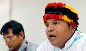 carlos sandi corrientes peru indigenous achuar