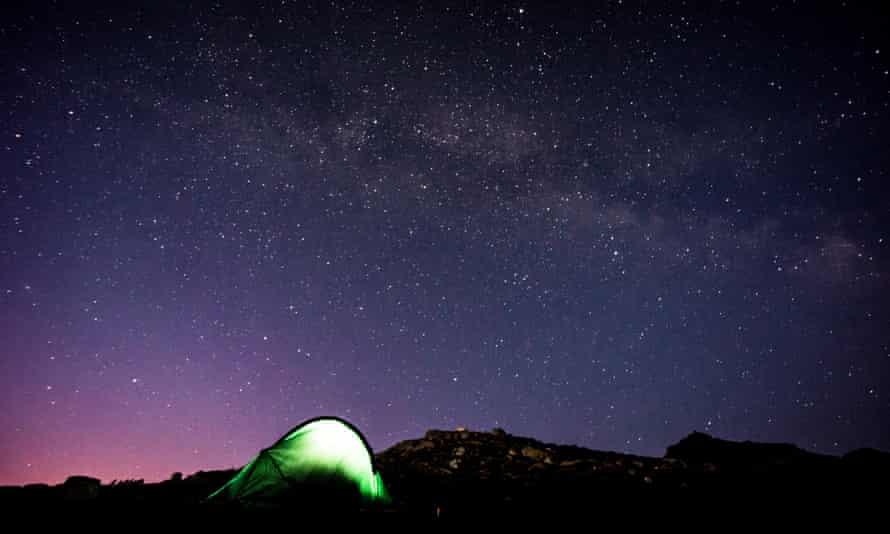 Night Sky on Snowdon