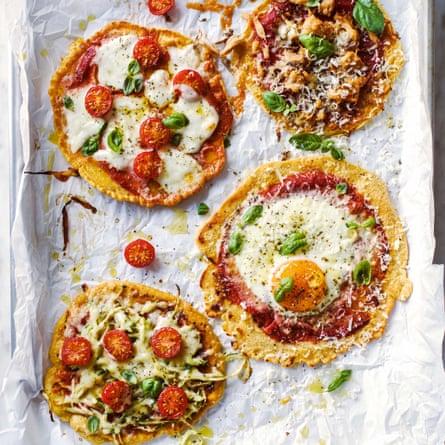 Beth Bentley's easy magic pizza.