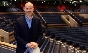 Daniel Evans, artistic director of Chichester festival theatre.