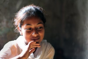 Fourteen-year-old Nipa lives in one room in a Dhaka slum with her parents and six siblings.