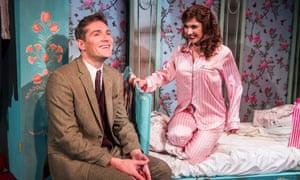 Mark Umbers and Scarlett Strallen in She Loves Me at the Menier.