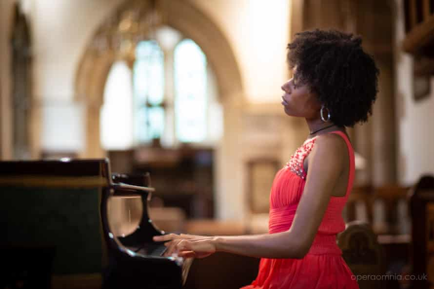 Isata Kanneh-Mason performing as part of the Ryedale festival.