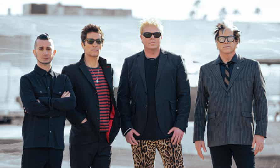 The Offspring, with Parada, left.