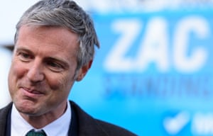 Zac Goldsmith campaigning in Sidcup earlier this month.