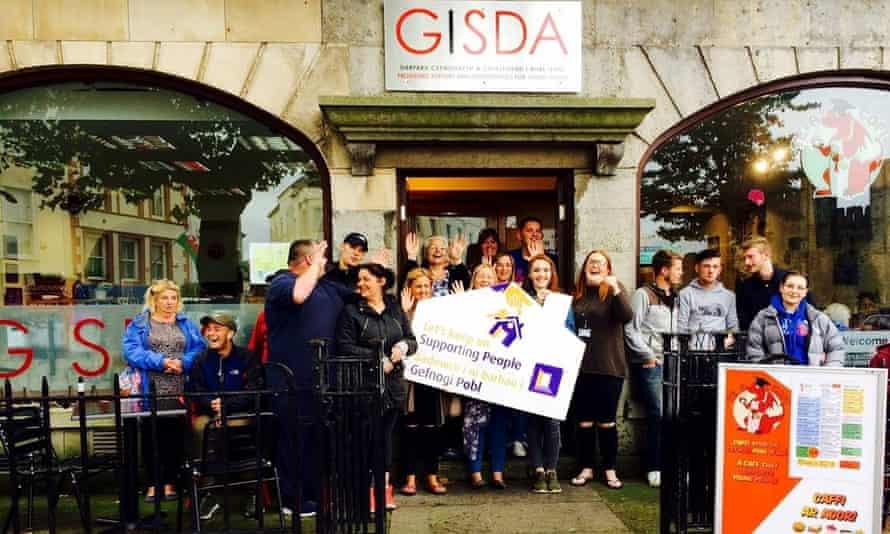 Youth charity GISDA won an award from the Garfield Weston Foundation.