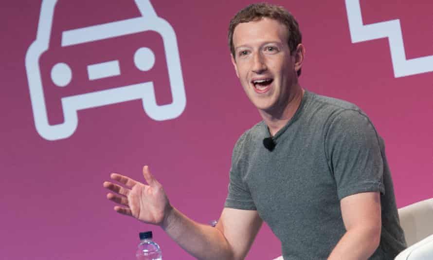 Mark Zuckerberg at the 2016 Mobile World Congress in Barcelona.