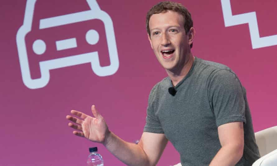 "Mark Zuckerberg, whose aim is to 'make the world more ""connected"" but less open'"
