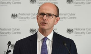 GCHQ director Jeremy Fleming