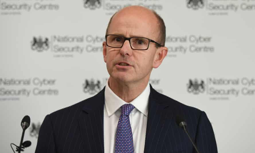 The GCHQ director, Jeremy Fleming