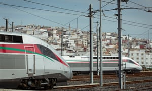 Morocco's new high-speed trains await testing