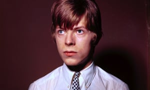 'Singer not particularly exciting' ... David Bowie – then known as Davy Jones – pictured in 1965.