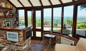 The former station master's quarters is now a gated house, with a conservatory and decked terrace boasting dramatic views across the Tamar valley and Dartmoor.