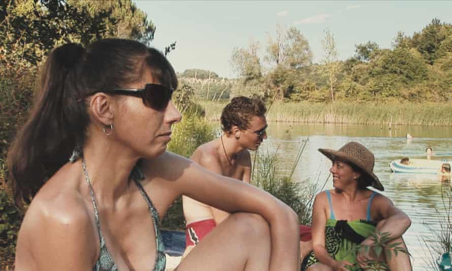 Kathryn Worth, Tom Hiddleston and Mary Roscoe in Joanna Hogg's Unrelated.
