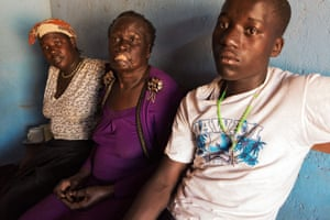 Christine, 69, and her family were attacked by the LRA in 1991
