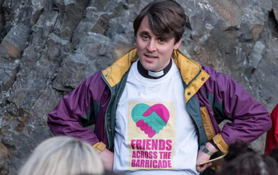 Spare a thought for Father Peter, who was only doing his best ... Derry Girls.