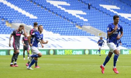 Cardiff confound Leeds thanks to Junior Hoilett and Robert Glatzel