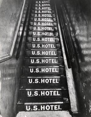 A hotel at 263 Bowery, 1943- 45