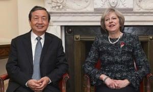 Ma Kai and Theresa May