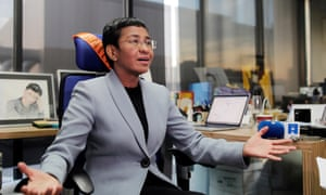 Maria Ressa, editor of Philippines news website Rappler, arrested
