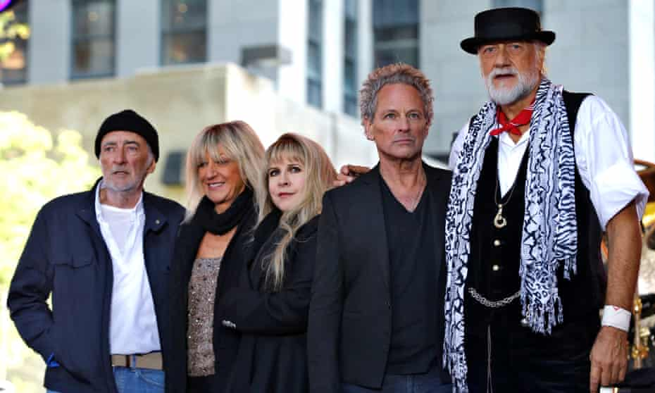 Fleetwood Mac … collecting huge cheques without doing anything.