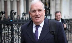 Kelvin MacKenzie leaves the High Court