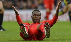 Liverpool's Christian Benteke remains a priority for Palace.