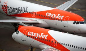 EasyJet aircraft at the new Berlin-Brandenburg airport