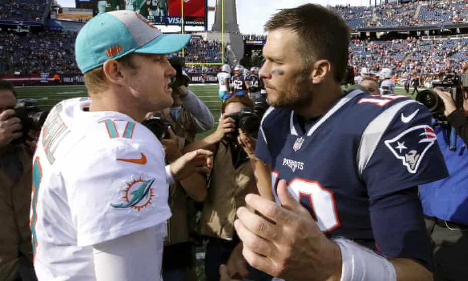 Tom Brady's Patriots ended the Dolphins unexpected winning start to the season on Sunday