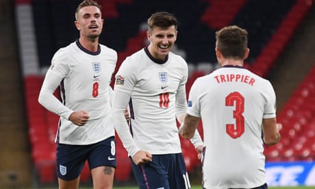 England sink Belgium in Nations League thanks to Mount's lucky break