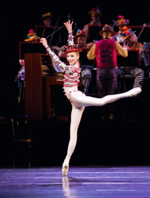Sarah Lamb in the Royal Ballet's 2010 production of MacMillan's Elite Syncopations.