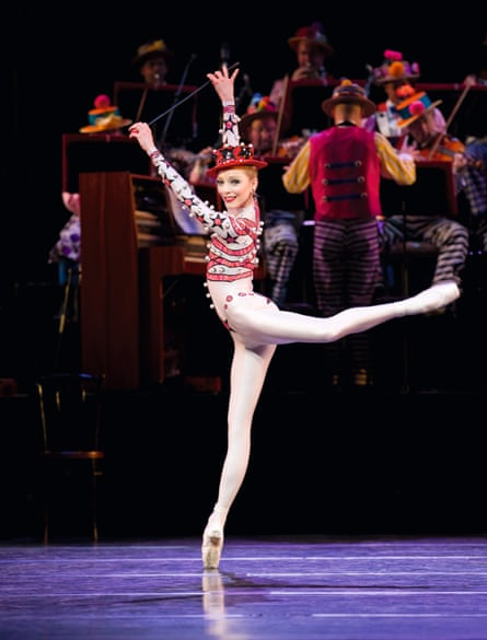Sarah Lamb in the Royal Ballet's production of Elite Syncopations, choreographed by Kenneth MacMillan