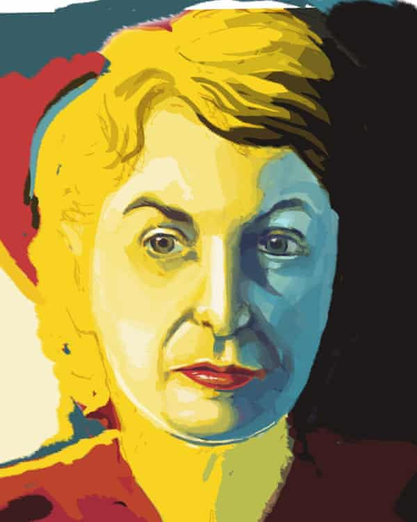 Artwork for the Rob Garver documentary What She Said: The Art of Pauline Kael.