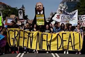 'As a climate activist I've been grateful for the only major newspaper to give the climate emergency the attention it needs – big front-page stories, the amplification of climate voices such as Greta Thunberg and Naomi Klein, and on-the-ground coverage of the Standing Rock protests.'