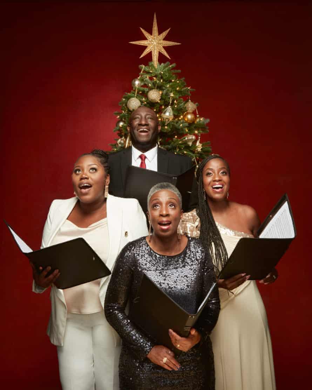 The Kingdom Choir's Ayanna Mitchell, Vernon Samuels, Kim Samuels and Kemi Bramwell