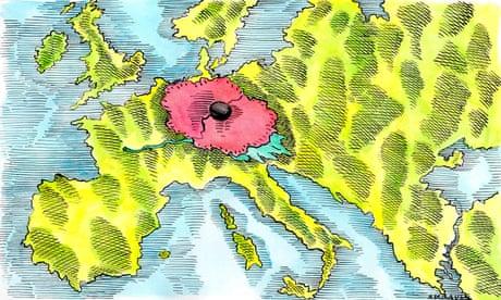 Andrzej Krauze on Armistice Day – cartoon