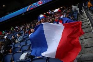 Fans of Les Bleues.