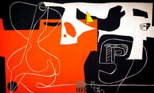 Le Corbusier tapestry