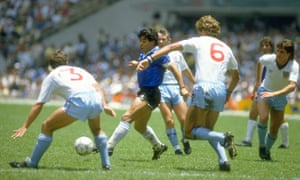 'Through football we thought we had recovered the Malvinas in 1986 thanks to Diego Maradona, a national hero ever since.'