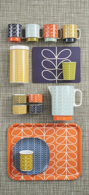 Classic Orla Kiely patterns, from Orla Kiely: A Life in Pattern at the Fashion and Textile Museum.