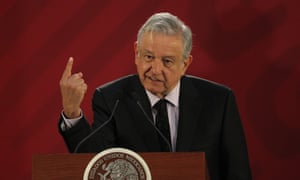 Mexico's current president, Andrés Manuel López Obrador, has a recipient of Joaquín Guzmán's bribes in 2006, the court heard.